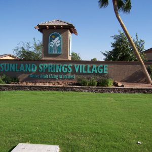 live in sunland springs village - feature